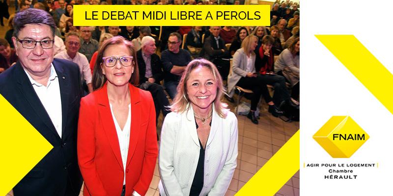 urbanisme, écologie et fiscalité au menu des trois candidats à Pérols