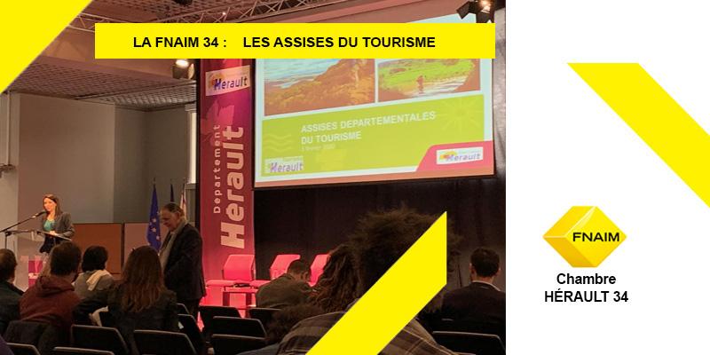 FNAIM 34: les assises du TOURISME 3 Février 2020