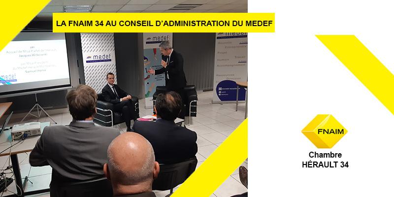 Conseil d'Administration du MEDEF