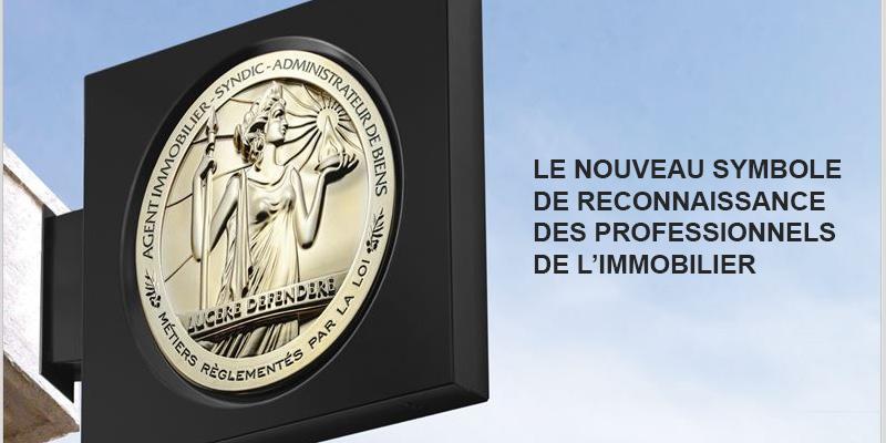 LE NOUVEAU SYMBOLE DE RECONNAISSANCE DES PROFESSIONNELS DE L'IMMOBILIER